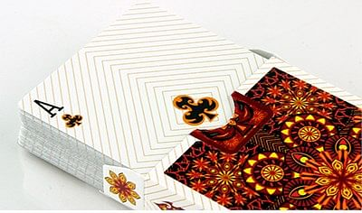 Bicycle Elemental Fire Collectable Playing Cards