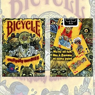 Bicycle Everyday Zombie Deck - magic