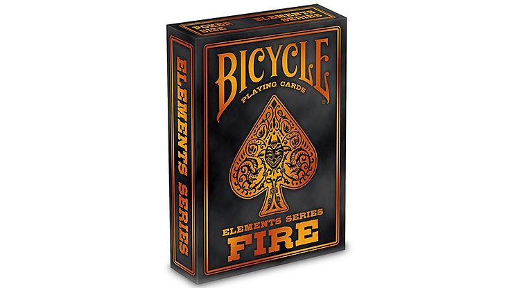 Bicycle Fire Playing Cards - magic