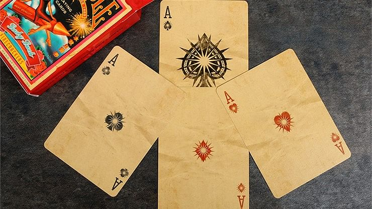 Bicycle Firecracker Playing Cards