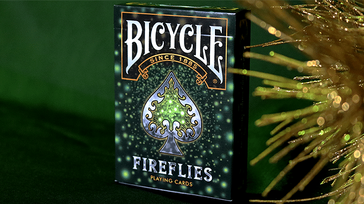 Bicycle Fireflies Playing Cards - magic