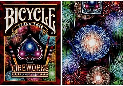 Bicycle Fireworks Playing Cards - magic