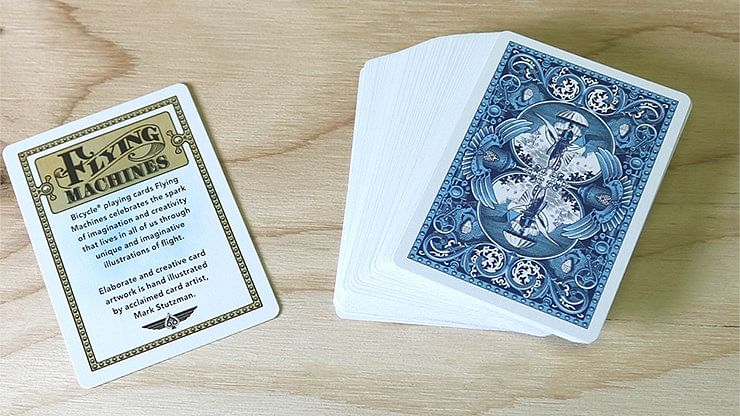 Bicycle Flying Machines Playing Cards