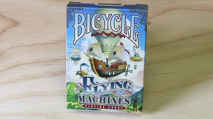 Bicycle Flying Machines Playing Cards - magic