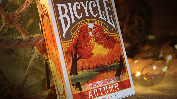 Bicycle Four Seasons Limited Edition Autumn Playing Cards - magic
