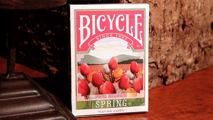 Bicycle Four Seasons Limited Edition Spring Playing Cards - magic