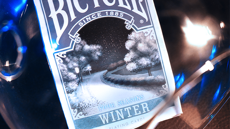 Bicycle Four Seasons Limited Edition Winter Playing Cards - magic