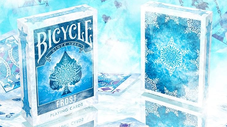 Bicycle Frost Playing Cards - magic