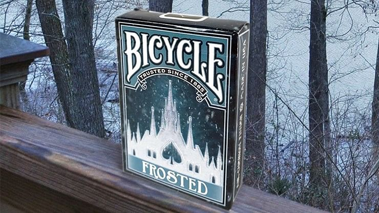 Bicycle Frosted Playing Cards - magic