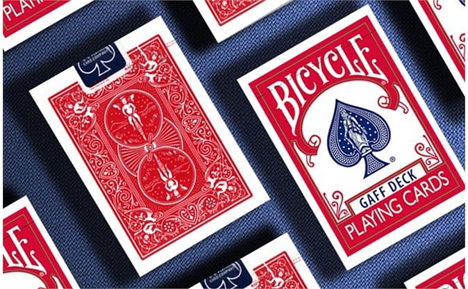 Bicycle Gaff Rider Back  Playing Cards
