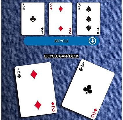 Bicycle Rider Back Gaff Playing Cards
