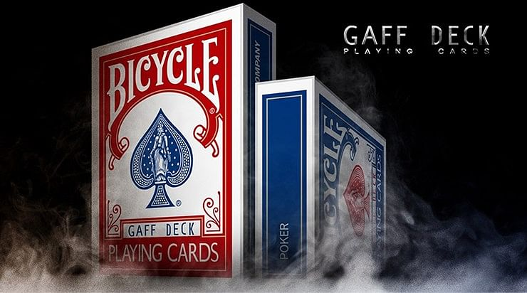 Bicycle Rider Back Gaff Playing Cards - magic