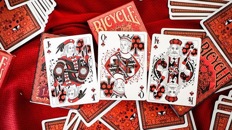 Bicycle Gilded Ladybug  Playing Cards