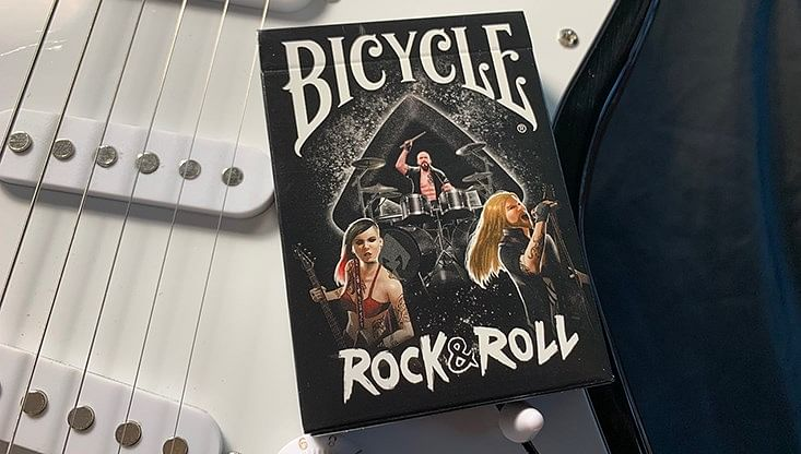 Bicycle Gilded Rock & Roll Playing Cards - magic