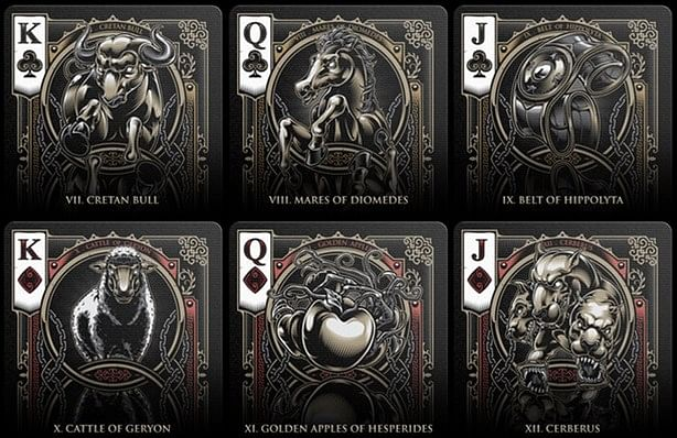 Bicycle Hercules Playing Cards
