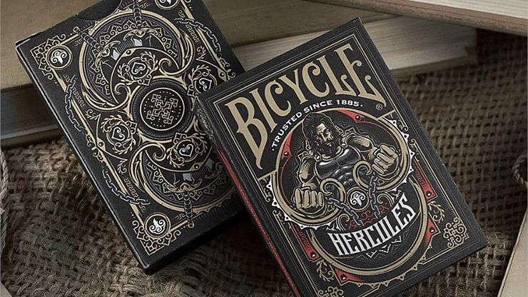 Bicycle Hercules Playing Cards - magic