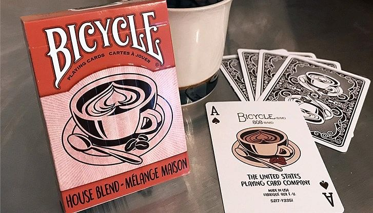 Bicycle House Blend Playing Cards - magic