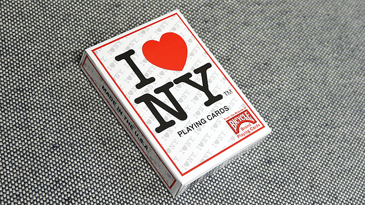 Bicycle I Love NY Playing Cards - magic