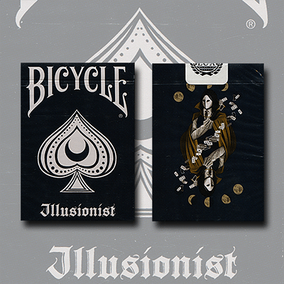 Bicycle Illusionist Deck Limited Edition (Dark) - magic