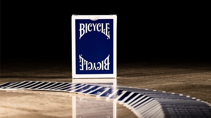 Bicycle Insignia Back  Playing Cards (Black) - magic