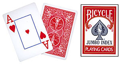 Bicycle Jumbo Index Playing Cards