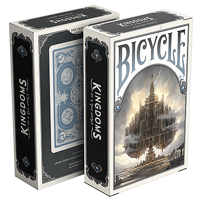 Bicycle Kingdoms Playing Cards (Blue) - magic