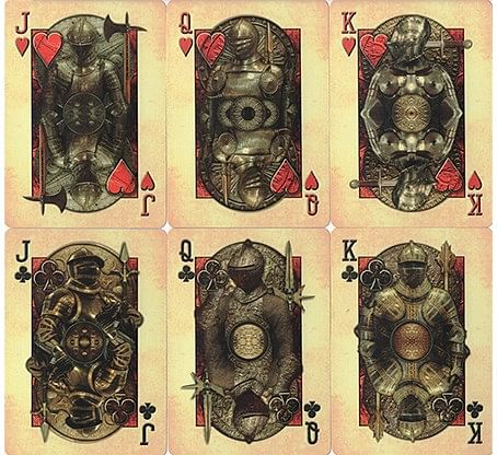 Bicycle Knights Playing Cards
