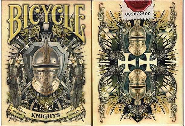 Bicycle Knights Playing Cards - magic