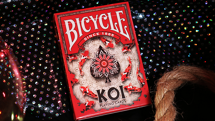 Bicycle Koi Playing Cards - magic