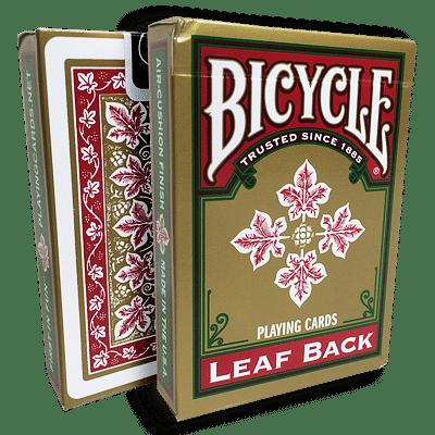 Bicycle Leaf Back Deck (Red) - magic
