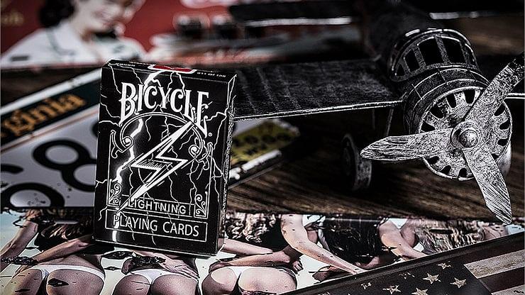 Bicycle Lightning Playing Cards - magic