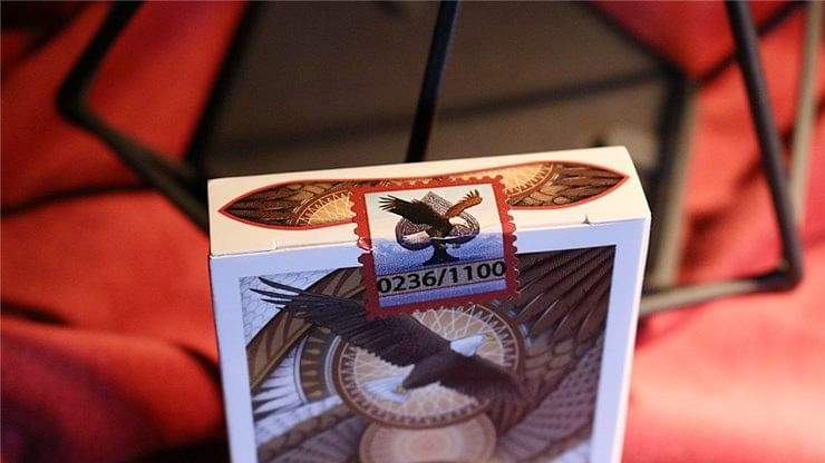 Limited Edition Bicycle Bald Eagle Playing Cards