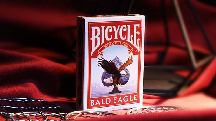 Limited Edition Bicycle Bald Eagle Playing Cards - magic