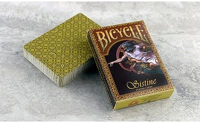 Bicycle Sistine Playing Cards - magic