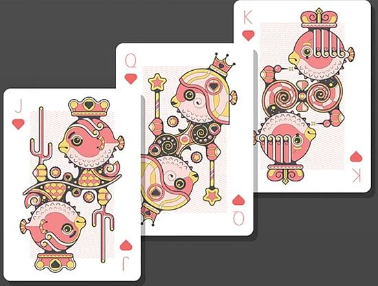 Bicycle Little Atlantis Playing Cards