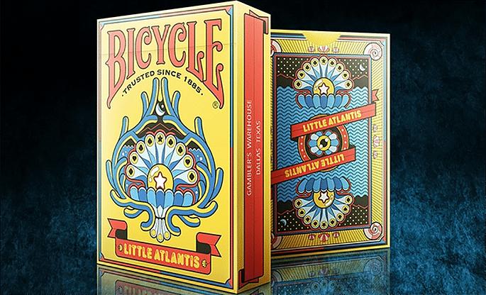 Bicycle Little Atlantis Playing Cards - magic