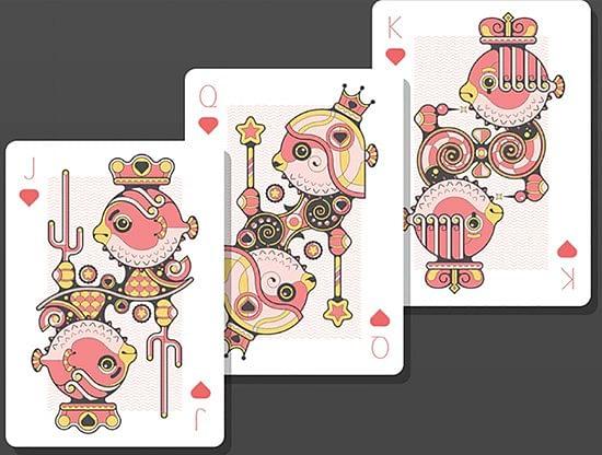 Bicycle Little Atlantis Night Playing Cards