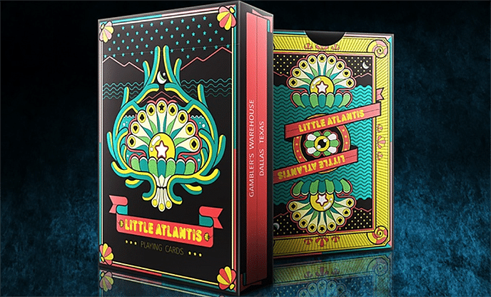 Bicycle Little Atlantis Night Playing Cards - magic