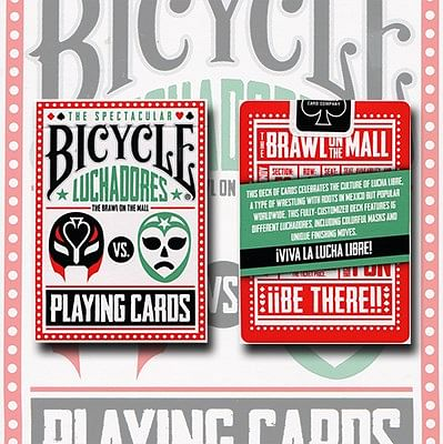 Bicycle Luchadores Playing Cards - magic