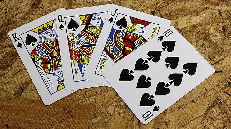 Bicycle Maiden Back Playing Cards