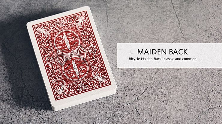 Bicycle Maiden Marked Playing Cards - magic