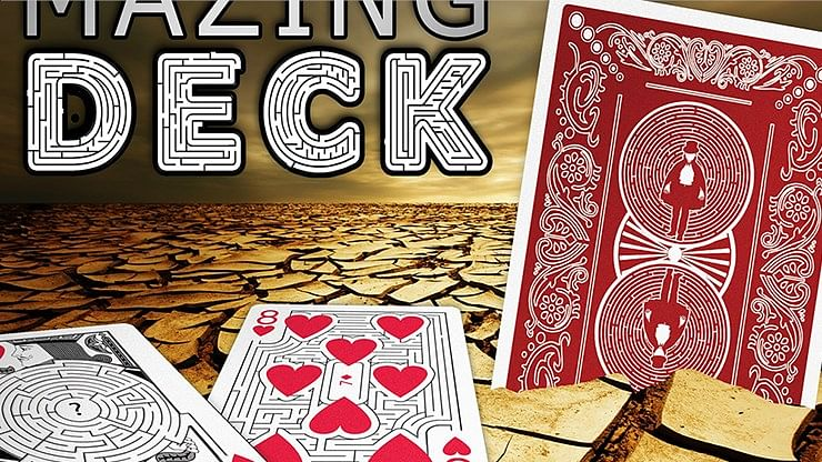 Bicycle Mazing Playing Cards - magic