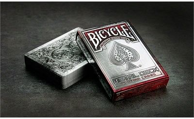 Bicycle Metal Playing Cards - magic
