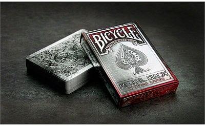 Bicycle Metal Playing Cards - magic
