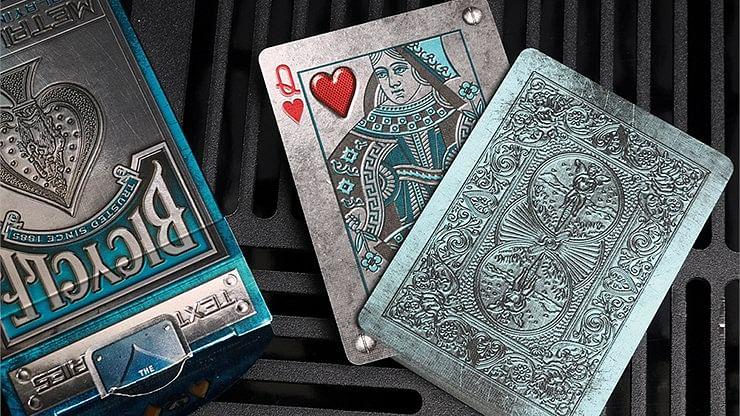 Bicycle Metal Rider Back Playing Cards