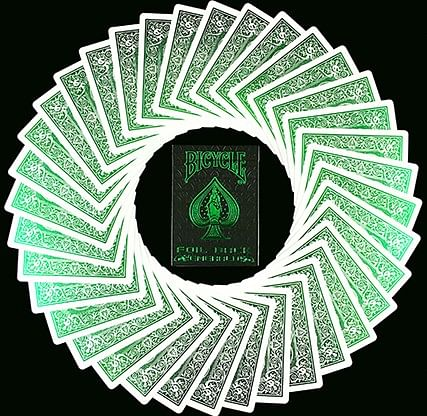 Bicycle MetalLuxe Emerald Playing Cards Limited Edition