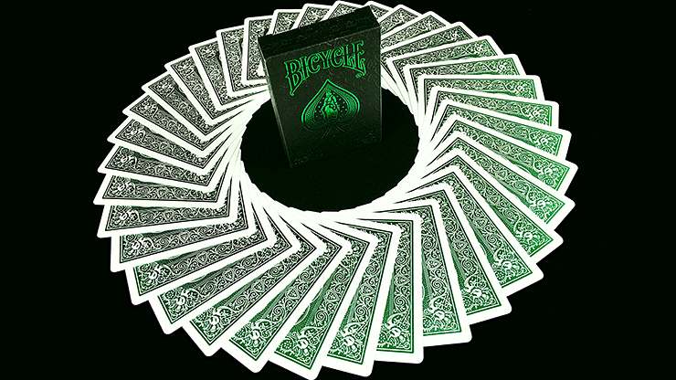 Bicycle MetalLuxe Emerald Playing Cards Limited Edition - magic