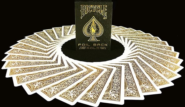 Bicycle MetalLuxe Gold Playing Cards Limited Edition