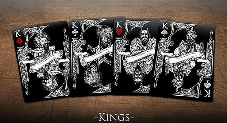 Bicycle Middle Kingdom Playing Cards (Black)