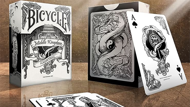 Bicycle Middle Kingdom Playing (White)